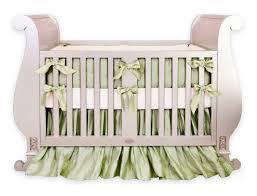 silk lavender crib bedding set little crown interiors