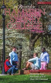 record of hampden sydney april 2014 by hampden sydney college