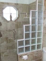 glass block designs for bathrooms stunning images of bathroom decoration with glass block shower