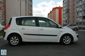 renault scenic 2007 купить автомобиль renault scenic 2 2007 белый с пробегом