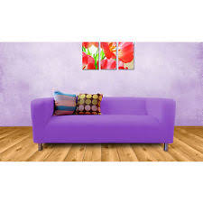 purple sofa slipcover furniture slipcovers ebay