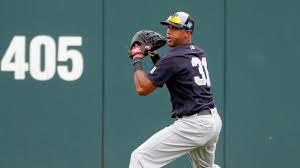 What S Next For Aaron Hicks As Aaron - hard throwing aaron hicks starred on the mound too abc news