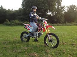 motocross bikes for sale in wales welsh pit bike wpb race 140 only two weeks old as new condition