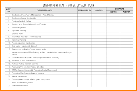 6 health and safety plan templates free formatting letter