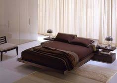 Modern Furniture Bedroom Set by Modern Platform Bed High Gloss Lacquer White With Leather