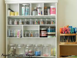 How To Organize Craft Room - anyone can decorate craft room organizing cute storage bins