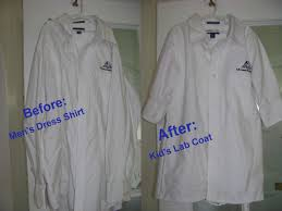 Inexpensive Children S Clothing How To Make A Kid U0027s Lab Coat Out Of A Men U0027s Shirt Teach