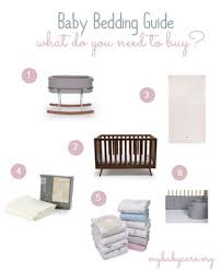 Bedding For A Crib Baby Bedding Guide What Do You Need To Buy