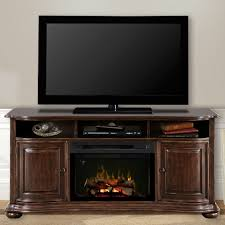 Electric Fireplace Entertainment Center Henderson Distressed Cherry Electric Fireplace Entertainment