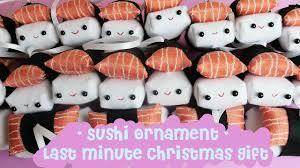 kawaii diy sushi doll ornament for