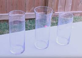 Dollar Store Cylinder Vases Woman Buys Some Glass Vases From The Dollar Store What She Does