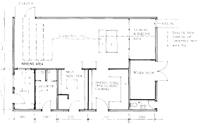 slaughterhouse floor plan farm structures ch10 animal housing slaughterslabs and