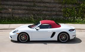 porsche metallic wallpaper porsche 2017 718 boxster s white side metallic automobile