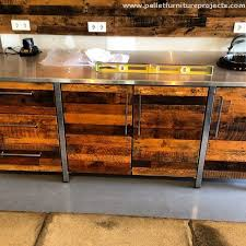 kitchen cabinets made out of pallet wood pallet wood works in kitchen pallet furniture projects