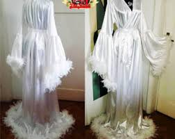 Wedding Sleepwear Bride Wedding Kimono Etsy