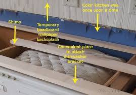 How To Install Base Cabinets With Shims Installing Menards Riverstone Quartz Countertops D U0027oh I Y