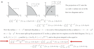multivariable calculus help to change the orders of this triple