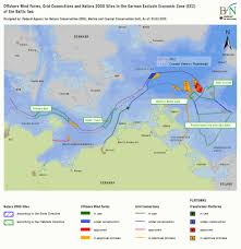 Baltic Sea Map Bfn Offshore Wind Power