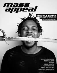 kendrick lamar covers mass appeal magazine hiphop n more