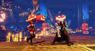 street fighter 5 halloween costumes stage arrive this month