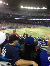 rogers centre section 116r home of toronto blue jays toronto