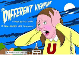 Politically Correct Meme - it invaded her mind it challenged her thinking pc politically