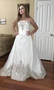 where to buy oleg cassini wedding dresses oleg cassini cv008 wedding dress currently for sale at 71