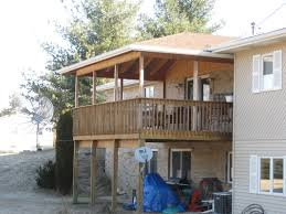 Pictures Of Roofs Over Decks by Decks Porches Ramps And Stairs John Young Construction Inc