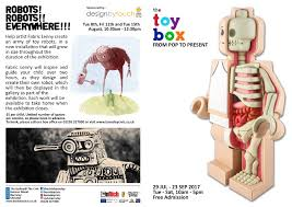 the toy box from pop to present art of bruce whistlecraft