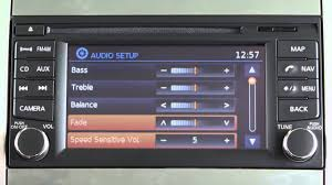 Bose Kitchen Radio Under Cabinet by 2013 Nissan Xterra Audio System With Navigation Youtube