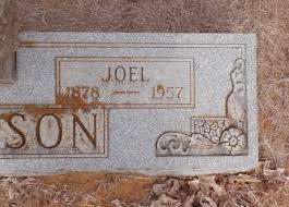 joel allen joel allen jackson 1878 1957 find a grave memorial
