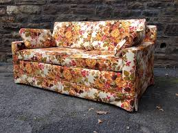 Floral Couches Autumnal Floral Loveseat Attainable Vintage