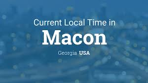 Macon Ga Zip Code Map by Current Local Time In Macon Georgia Usa