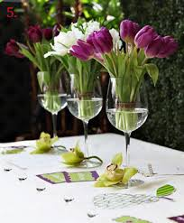 flowers wine wine glass centerpieces rooted in