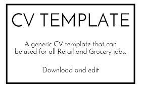 resume template exle free sle cv template
