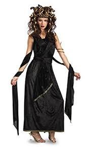 Grown Halloween Costumes Amazon Medusa Halloween Costume Large 12 14 Black