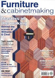 Woodworking News Magazine Uk by Furniture U0026 Cabinet Making Magazine Subscription