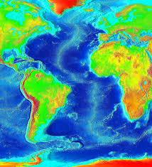 Ocean Depth Map List Of Fracture Zones Wikipedia
