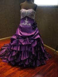 breathtaking royal purple wedding dress by weddingdressfantasy
