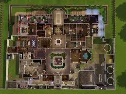 modern mansion floor plans modern house plans sims floor mansion home plans blueprints 24121