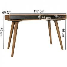 Schreibtisch 100 X 70 Finebuy Schreibtisch 120 X 60 X 75 Cm Massiv Holz Laptoptisch