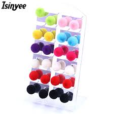 plastic stud earrings isinyee pairs set 8mm plastic stud earrings set resin jewelry