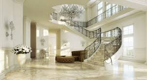 grand sweeping staircase interior design ideas