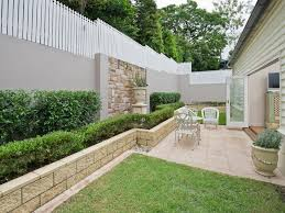 House Gardens Ideas Garden Design Using Grass Retaining Wall Cubby House Gardens Dma