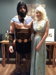daenerys targaryen costume spirit halloween handmade khaleesi and khal drogo costumes from halloween