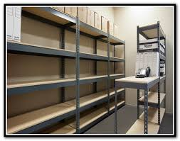 Garage Shelving System by Plastic Garage Shelving Systems Home Design Ideas
