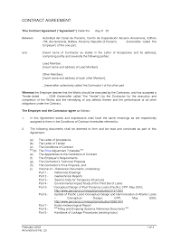 doc 12751650 contract agreement letter u2013 sample agreement letter