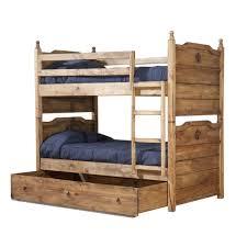 Rustic Bunk Bed Rustic Bunk Bed W S Mattress Mattresses