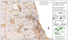 Chicago Crime Map by Crime Law Enforcement Mapping Lucas Mapping Solutions