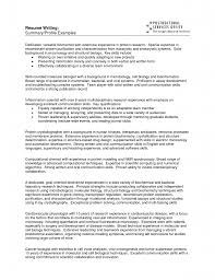 Best Font For Resume Writing by Good Resume Summary Examples Resume For Your Job Application
